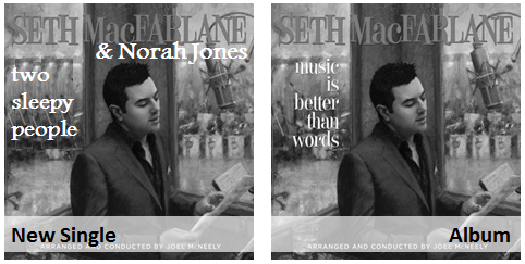 Norah Jones & Seth Mac Farlane - two sleepy people pop jazz radio