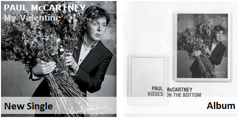 Paul McCartney - My Valentine (pop jazz radio)