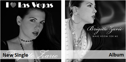 Brigitte Zarie - I love las vegas (pop jazz radio)