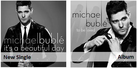 Michael Buble - It's A Beautiful Day   To Be Loved (pop jazz radio)